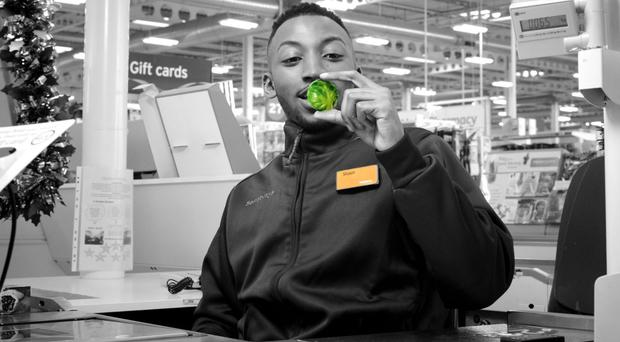 The ad by Sainsbury's is an extension of its Living Well campaign (Sainsbury's/PA)