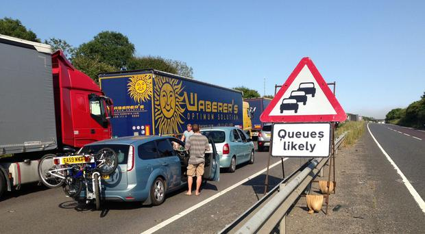 The House of Commons Public Accounts Committee warned of massive queues at Dover (PA)