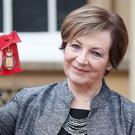 Delia Smith after she was made a member of the Order of the Companions of Honour by the Queen (Jonathan Brady/PA)