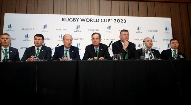 2023 Rugby World Cup Host Union Announcement – Royal Garden Hotel