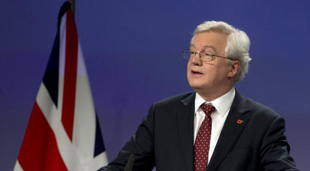 David Davis will speak in Berlin (PA)