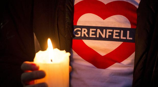 In the immediate aftermath of the blaze 400 people were listed as missing (Lauren Hurley/PA)