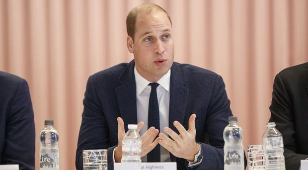 The Duke of Cambridge has launched a national campaign to tackle cyberbullying (Tolga Akmen/PA)