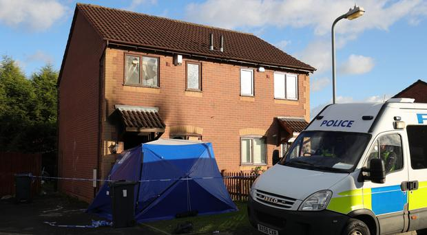 The firework was set off at the victim's home in Tile Cross, Birmingham (Aaron Chown/PA)