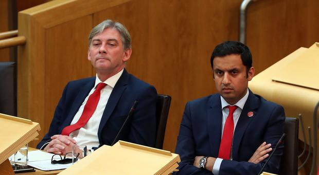 Scottish Labour leadership candidates Richard Leonard (left) and Anas Sarwar
