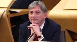 Richard Leonard only became an MSP last year (Andrew Milligan/PA)