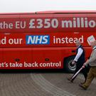 Vote Leave is being investigated over its spending (Stefan Rousseau/PA)