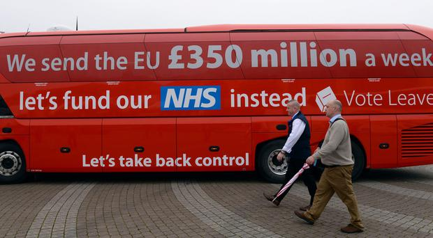 Vote Leave reported spending totalling almost £6.8 million on the referendum (Stefan Rousseau/PA)