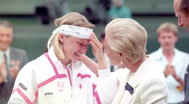 Jana Novotna File Photo