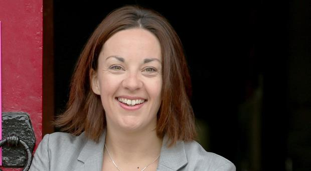 Labour will not be suspending Kezia Dugdale (Jane Barlow/PA)