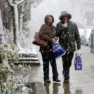 Heavy rain and snow is forecast north of the border on Thursday morning (Jane Barlow/PA)