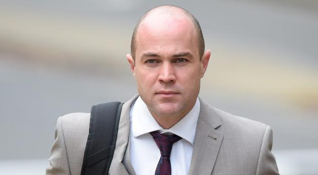 Emile Cilliers outside Winchester Crown Court (Ben Birchall/PA)