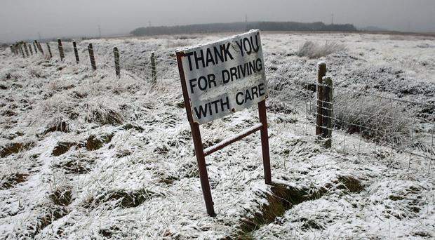 Cold and wintry weather looks set to continue (Andrew Milligan/PA)