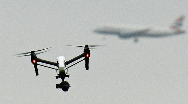New technology could be used to create no-fly zones for drones (PA)