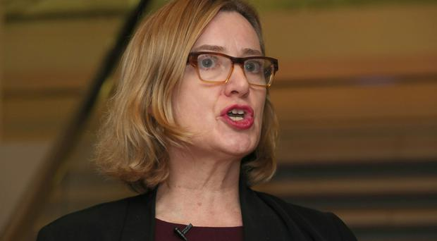 Home Secretary Amber Rudd. (Chris Radburn/PA)