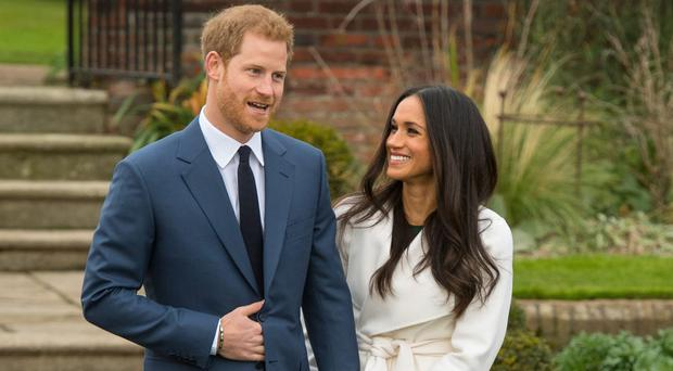 Harry might choose the Star Wars screening to introduce American actress Meghan Markle (Dominic Lipinski/PA)