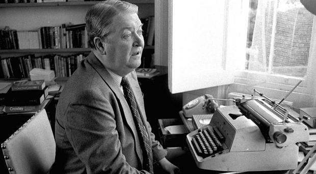Sir Kingsley Amis joined the Communist party as a student (PA)