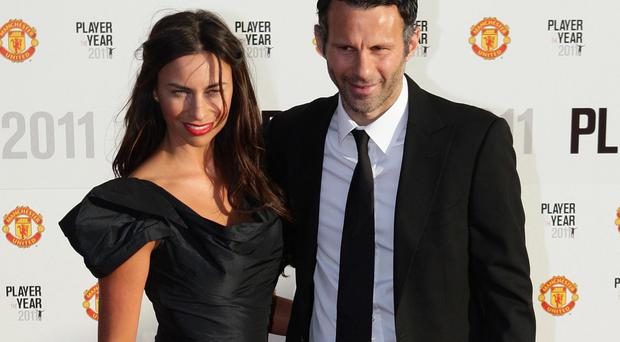 Ryan and Stacey Giggs in 2011 (PA)