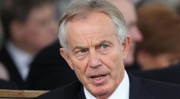 Tony Blair has issued a warning over Brexit