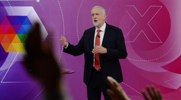 Labour leader Jeremy Corbyn during the special (Stefan Rousseau/PA)