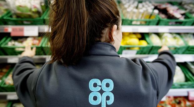 Shoppers at the 125 East of England Co-op stores in East Anglia will be able to buy the dated food (PA)