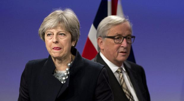 The Prime Minister's hopes of securing agreement on the terms of Britain's EU withdrawal were dashed on Monday (Virginia Mayo/AP)