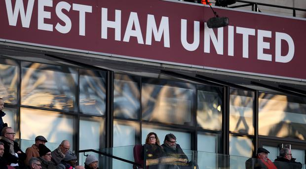 Premier club West Ham join Chelsea and Everton in agreeing to pay staff the living wage (Steven Paston/PA)