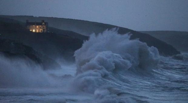 The third named storm of the year is expected to bring gusts of up to 80mph in northern Scotland (PA)