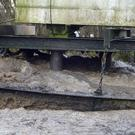 Foam build-up at Henley Sewage Treatment Works (Environment Agency/PA)