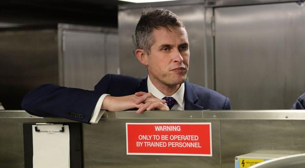 Defence Secretary Gavin Williamson (Stefan Rousseau/PA)