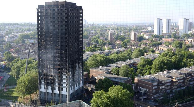 Grenfell Tower survivors have demanded 'urgent action' on rehousing (Rick Findler/PA)
