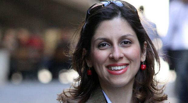 Nazanin Zaghari-Ratcliffe is serving a five-year sentence over allegations, which she denies, of plotting to overthrow the Tehran government,