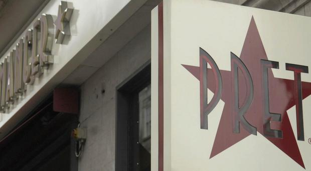 Pret A Manger is to open shops in motorway services (Clive Gee/PA)