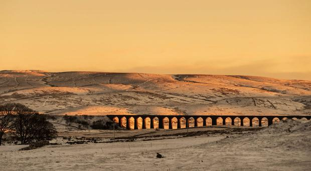 Ribblehead Viaduct in North Yorkshire (Danny Lawson/PA)
