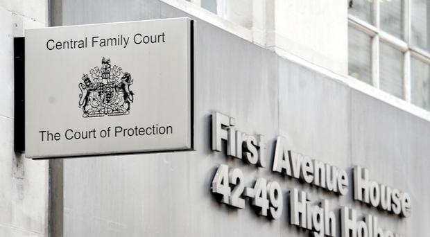 The Court of Protection and Central Family Court, in High Holborn, central London (PA)