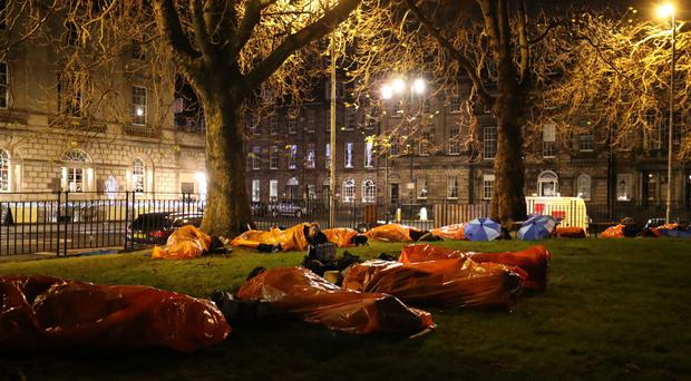 Charlotte Square in Edinburgh hosted the event (Jane Barlow/PA)