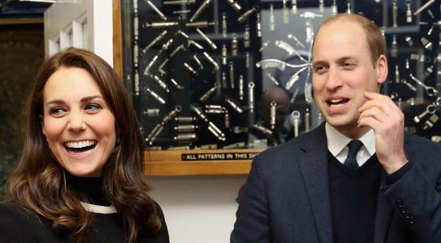 The royal couple will visit two capitals early next year (Chris Jackson/PA)