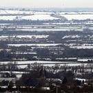 Snow covered fields near Parslows Hillcock, Buckinghamshire (Steve Parsons/PA)