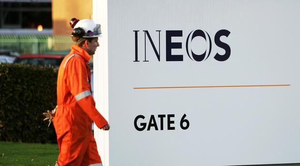 Operators Ineos said a small hairline crack was discovered last week (PA)