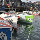 Crews line up ahead of the start of the Talisker Whisky Atlantic Challenge