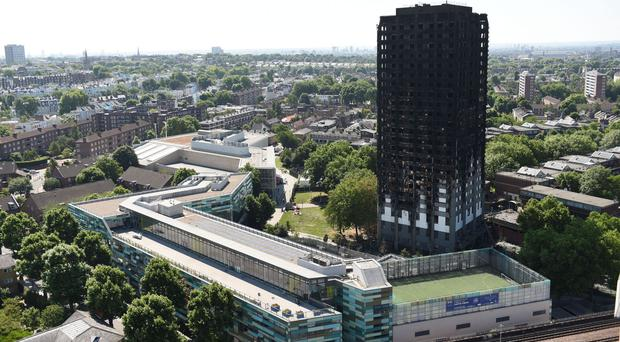 71 people were killed in the Grenfell Tower fire (David Mirzoeff/PA)
