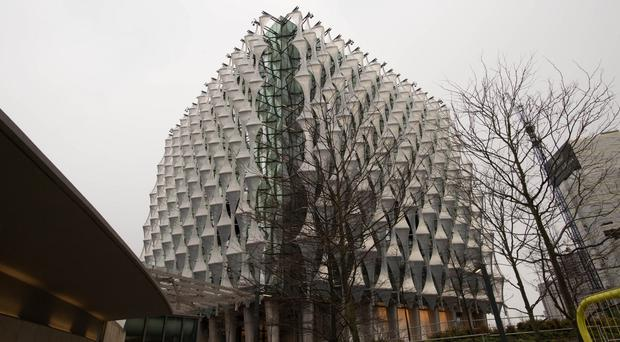 The new US Embassy in London