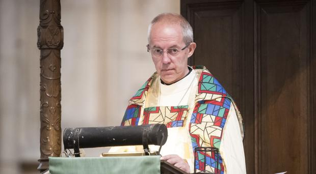 The Archbishop of Canterbury has called for a truce between opposing sides of the Brexit debate (Danny Lawson/PA)