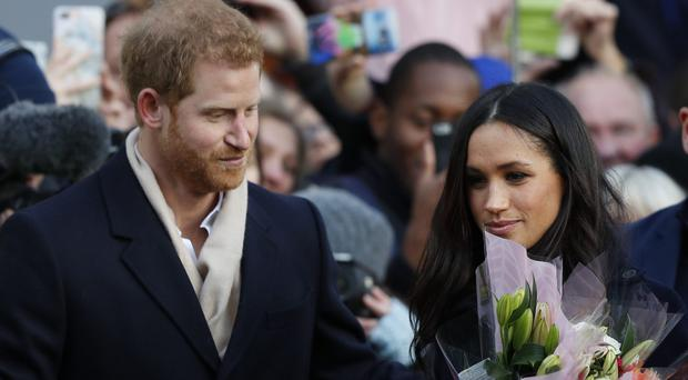 Prince Harry and Meghan Markle will tie the knot in 2018 (Adrian Dennis/PA)