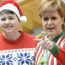 Scottish Conservative leader Ruth Davidson and First Minister Nicola Sturgeon