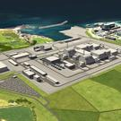 A CGI image of Horizon¹s Wylfa Newydd (Horizon Nuclear Power/PA)