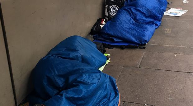 A High Court judge has ruled a Home Office policy on European rough sleepers unlawful (Carey Tompsett/PA)
