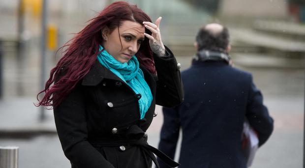 Deputy leader of the far right group Britain First Jayda Fransen. (Mark Marlow/PA)