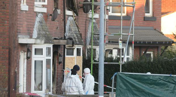 Four children died in the house fire (Peter Byrne/PA)