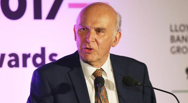 Vince Cable urged SNP MPs to back the Liberal Democrat amendment to the Bill (Jonathan Brady/PA)